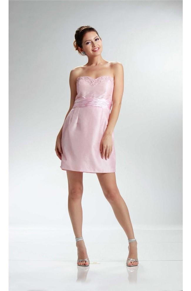 Short Taffeta Party Dress