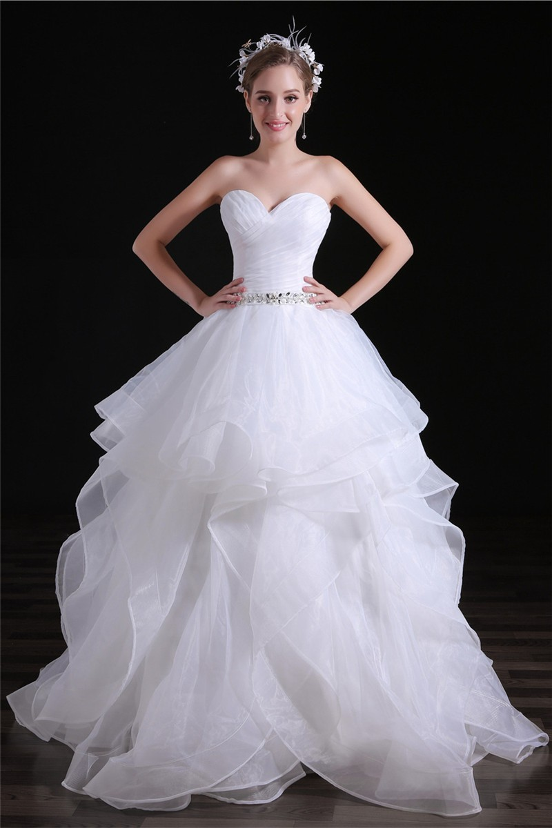 Ball organza gowns new photo