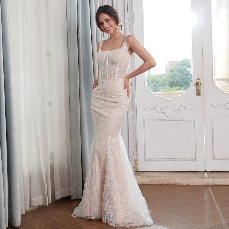 Glitter Wedding Dress With Detachable Train 1 lightbox moreview . f4e27b703246