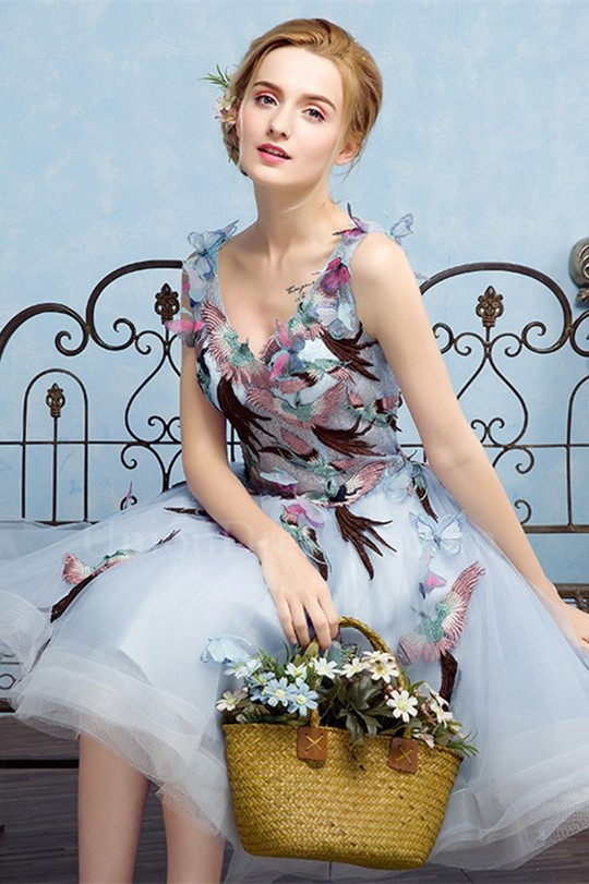Butterfly Corset Dress
