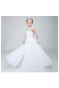 6be7959bd85 ... Cap Sleeve Tulle Lace Flower Girl Dress lightbox moreview · lightbox  moreview