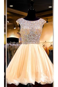 Short Gold Prom