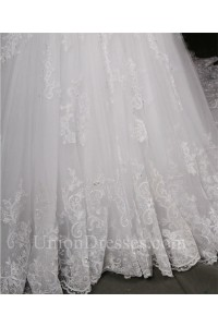 mermaid sweetheart long sleeve vintage lace beaded wedding
