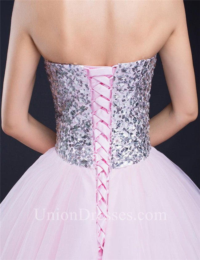 67d7f3df6e1a ... Tulle Sequin Beaded Prom Dress Corset Back lightbox moreview · lightbox  moreview · lightbox moreview · lightbox moreview · lightbox moreview ·  lightbox ...