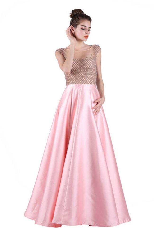 Taffeta Pink Dress