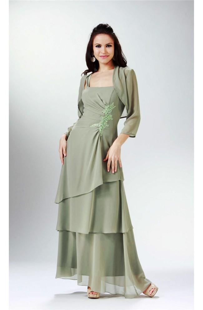 Dress with bolero jacket formal