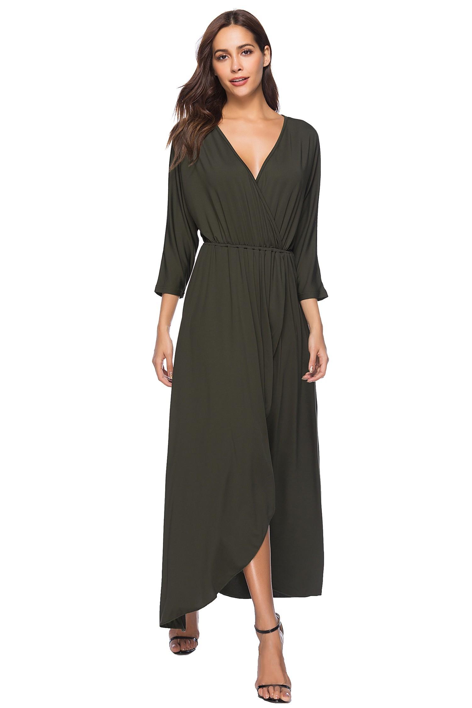 V Low Dress
