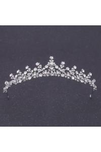 Stunning Alloy Crystal Wedding Bridal Sparkly Tiara Crown