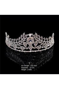 Gorgeous Wedding Bridal Tiara Crown With Swarovski Crystals