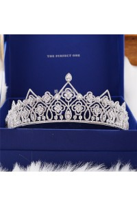 Gorgeous Zirconite Wedding Bridal Tiara Crown