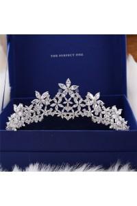 Shinning Swarovski Crystal Wedding Bridal Tiara Crown