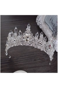 Stunning Wedding Bridal Tiara Crown Swarovski Crystals