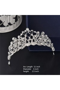 Stunning Wedding Bridal Tiara Headpieces With Rhinestones