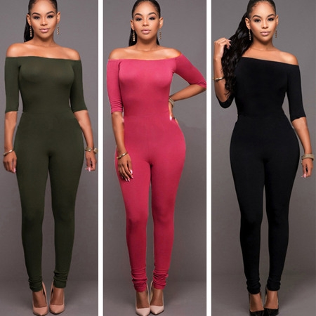 Tight Bodycon Jumpsuit